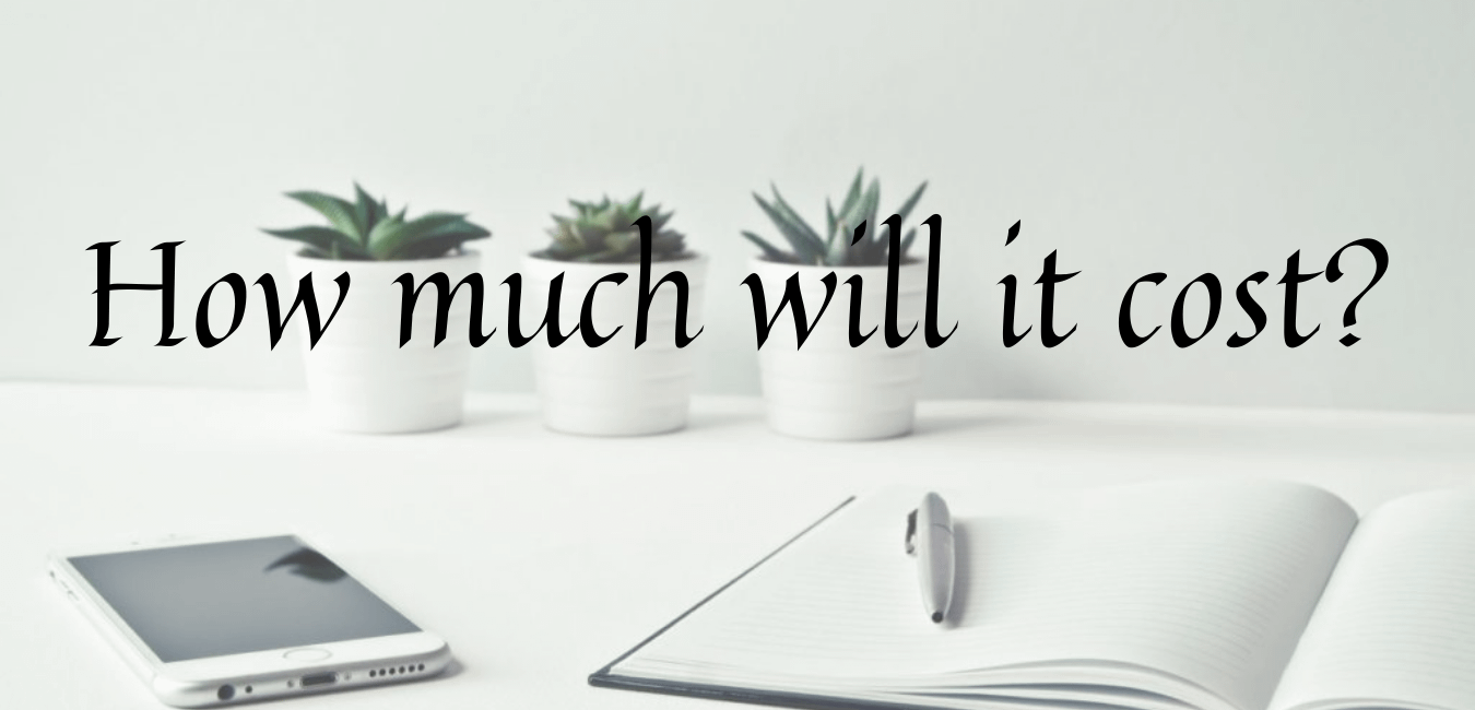 How much will it cost? - get a quote from MM Website Design