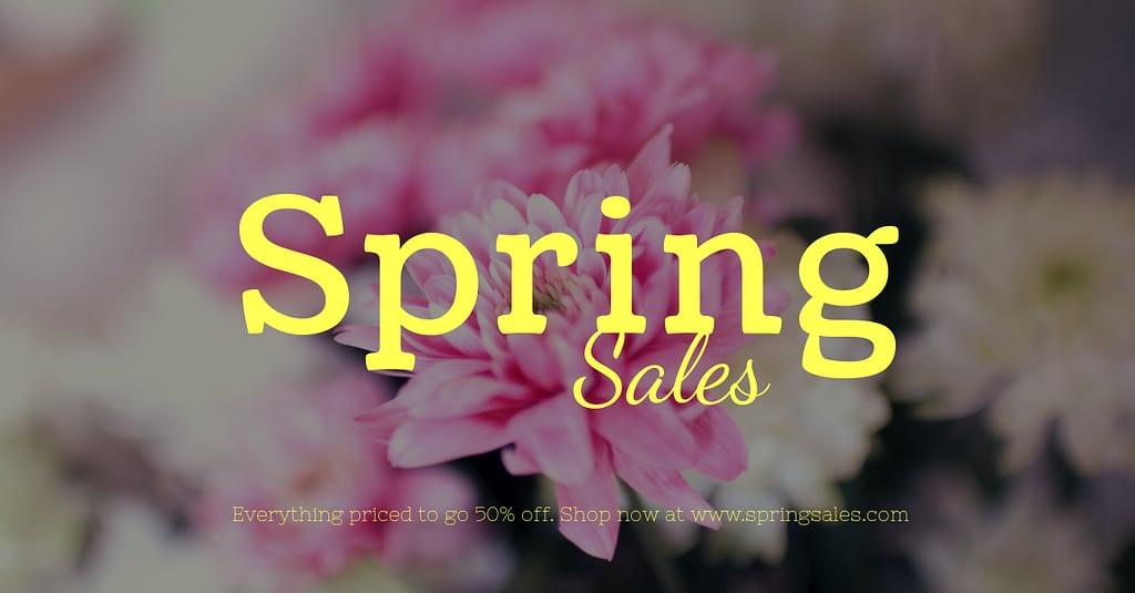 Spring Sales - MM Website Design